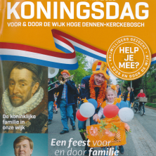 Koningsdag in Kerckebosch
